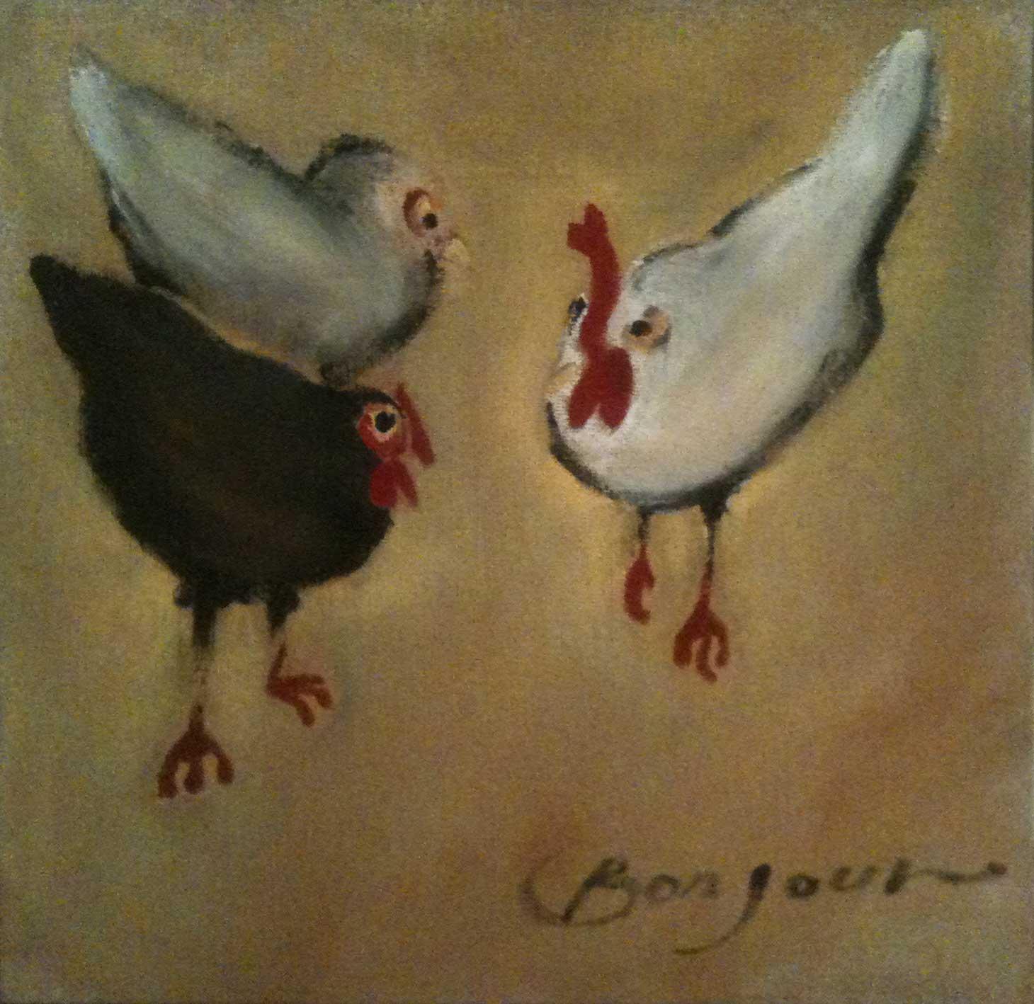 Chiacchere fra polli